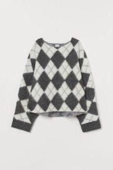 H&M, Jacquard-Knit Jumper - 39.99