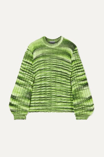 https://www.net-a-porter.com/gb/en/product/1154115/GANNI/neon-melange-ribbed-knit-sweater-