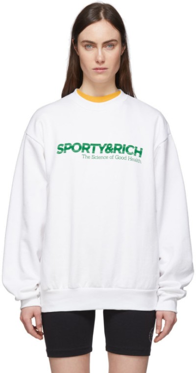 sporty-and-rich-white-science-sweatshirt